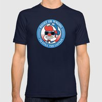 Right Or Wrong, I'm Stil… Mens Fitted Tee Navy SMALL