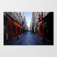 Bastille Street  Canvas Print