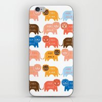 Lions  iPhone & iPod Skin