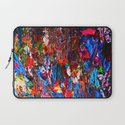 color mix / palette knife abstract Laptop Sleeve