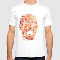 ROBBEN Mens Fitted Tee White SMALL