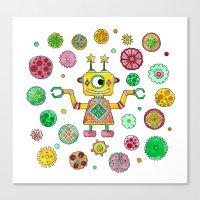 Robot Rita Canvas Print