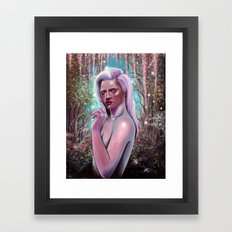 Nothing Left to Say Framed Art Print
