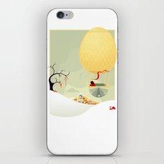 The Magic Balloon iPhone & iPod Skin