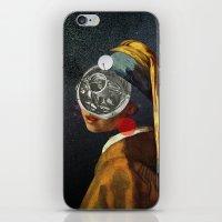 Look into the deep night iPhone & iPod Skin