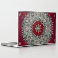 photography Laptop & iPad Skins featuring Mandala Nada Brahma  by Elias Zacarias