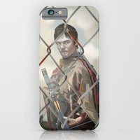walking dead iPhone & iPod Cases featuring The Walking Dead by ketizoloto