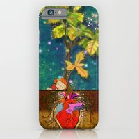 iPhone & iPod Case featuring even though i buried my heart, my love has blossomed by Christina Tsevis