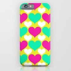 Happy hearts iPhone 6 Slim Case