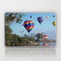 Hot Air Balloon Scene Laptop & iPad Skin