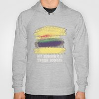 Veggie Burger (purple) Hoody