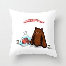Strange Love Throw Pillow