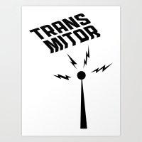 Transmitor Art Print