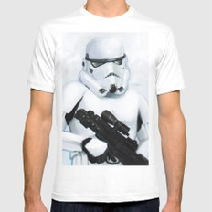 StormTrooper SMALL White Mens Fitted Tee