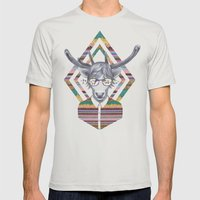 DREAMTAPES, created by Elena Mir and Kris Tate Mens Fitted Tee Silver SMALL