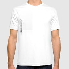 Ideas Mens Fitted Tee SMALL White