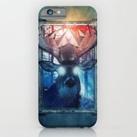 iPhone & iPod Case featuring The King Deer by Valentino Marazziti