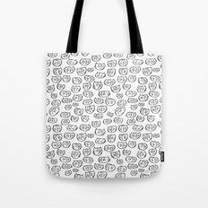 Fussy Cat Tote Bag
