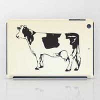 Poor Cow. iPad Case
