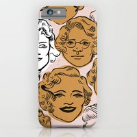 1950s in Pink & Gold iPhone 6 Slim Case