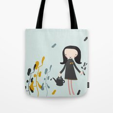 Nature must be nurtured Tote Bag