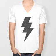 Lightning Strike Unisex V-Neck