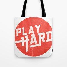 Play Hard Tote Bag
