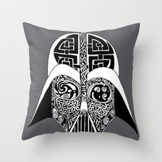 Celtic Vader Throw Pillow