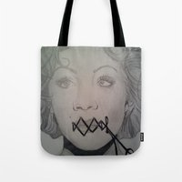 Wired Shut Tote Bag