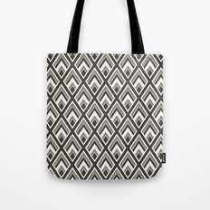 Diamond Pattern Light & Dark Tote Bag