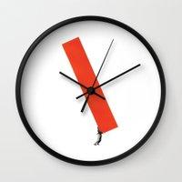 Heavy Construction Wall Clock