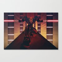 Darth Maul Canvas Print