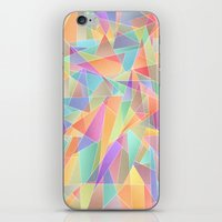 The Geometric Glass Shatter iPhone & iPod Skin