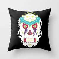 White Knuckle Ride Throw Pillow