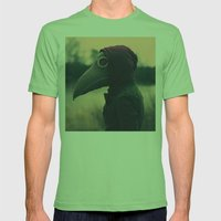 The Plague Mens Fitted Tee Grass SMALL