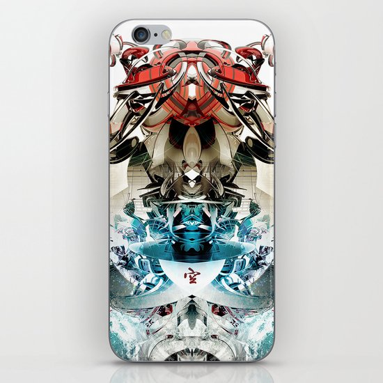 Vacío iPhone & iPod Skin