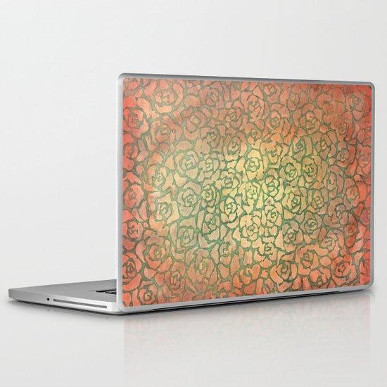 roses pattern Laptop & iPad Skin