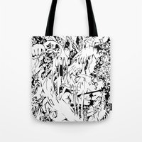Flowing Obsessions Tote Bag