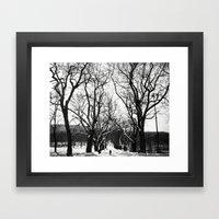 Growing Up Framed Art Print