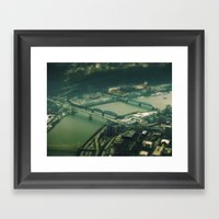 Mini Pittsburgh 2 Framed Art Print