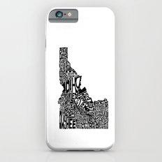 Typographic Idaho Slim Case iPhone 6s