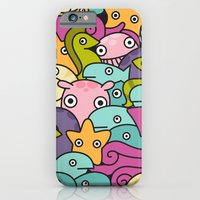 iPhone & iPod Case featuring Seafood by Liz Urso