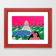 Alley To Your Heart Framed Art Print