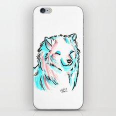 Brush Breeds-Samoyed iPhone & iPod Skin