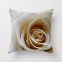 Yellow Roses #17 Throw Pillow