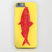 iPhone & iPod Case featuring Swedish Fish by Chase Kunz