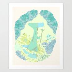 bordeciel Art Print