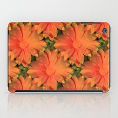 Orange Daisy iPad Case