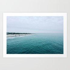 The Endless Sea 2 Art Print