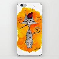 Dalí Cat iPhone & iPod Skin